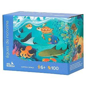 Quebra-Cabeça 100 Peças  - Águas de Noronha