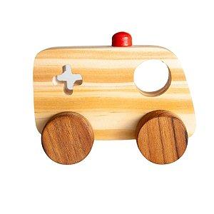 Coleção Mini Transportes - Ambulância