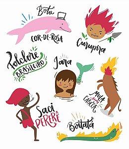Tatuagem temporária - Folclore Brasileiro