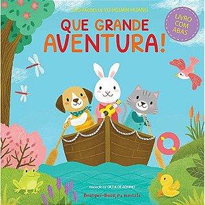 Que grande aventura! - Livro Infantil