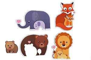 Quebra-cabeça Infantil - Baby animais e filhotes
