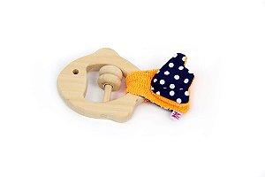 Brinquedo Sensorial para Bebê - Peixe azul