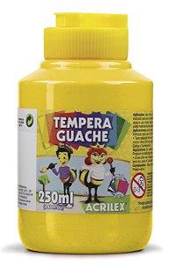 Têmpera Guache Amarelo Ouro - 250mL