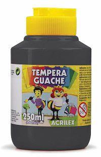 Têmpera Guache Preto - 250mL