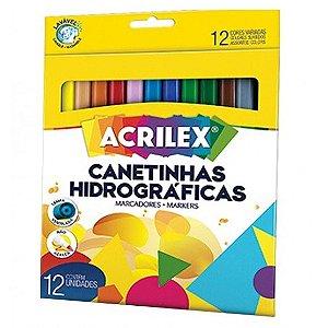 Canetinhas hidrográficas - 12 cores