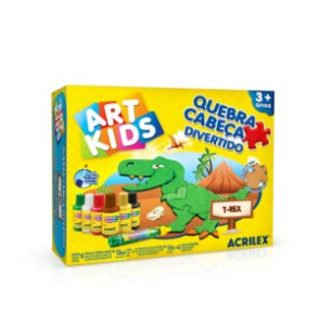 Quebra-cabeça divertido T-Rex