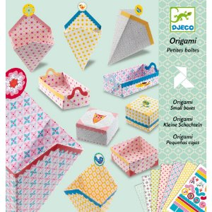 Kit Papéis para Dobradura (Origami) - Caixinhas
