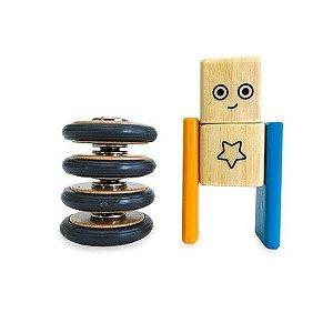 Kit Rodas - Blocos de Montar Magnéticos
