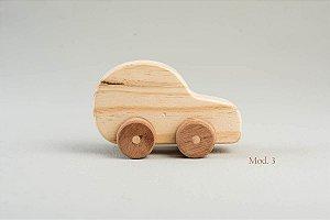 Carrinho de madeira - modelo 03
