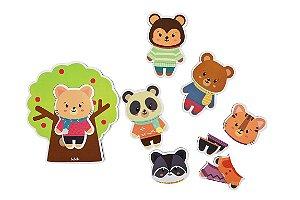 Quebra-cabeça Infantil - Mix Animais