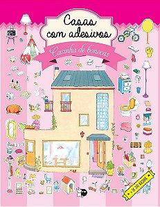 Casas com adesivos - Casinha de bonecas