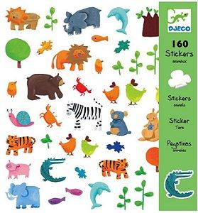160 Adesivos Infantis  - Animais