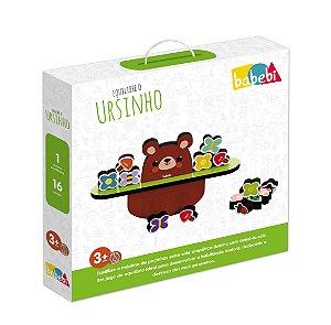 Equilibre o ursinho - Brinquedo Educativo