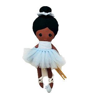 Boneca de Pano negra - Bailarina Bela