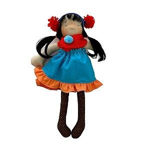Boneca de pano Colorê - Alicia