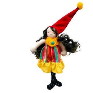 Boneca de pano Colorê - Adelaide