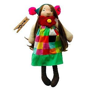 Boneca de pano Colorê - Agata