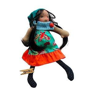 Boneca de pano Colorê - Alice