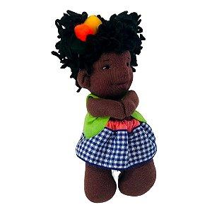 Boneca de pano Minidolls Carol