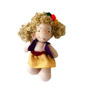 Boneca de pano Minidolls Luiza