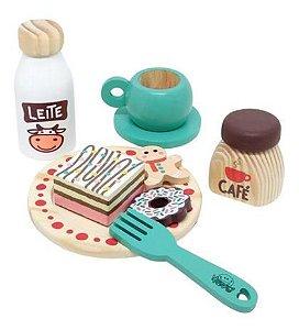 Coleção comidinhas! Kit Café