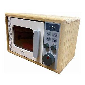 Brinquedo de madeira - Microondas