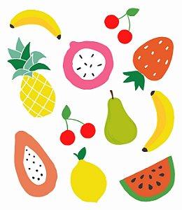 Tatuagem Temporária - Frutas