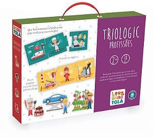 Jogo educativo - Triologic Profissões