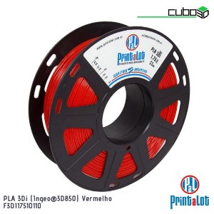 Filamento PrintaLot PLA 3Di Vermelho