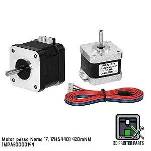 Motor de passo Nema 17 modelo 17HS4401 (420mNM)