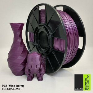 Filamento PLA OEM 3DPF Roxo Uva (Wine Berry)