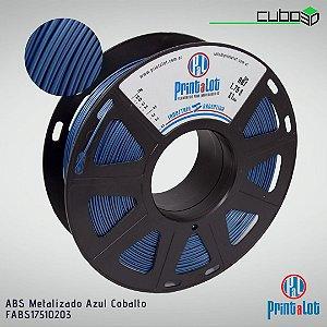 Filamento ABS PrintaLot Metalizado Azul Cobalto