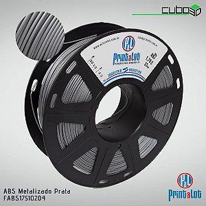 Filamento ABS PrintaLot Metalizado Prata