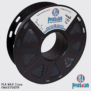 Filamento PrintaLot PLA MAX Cinza