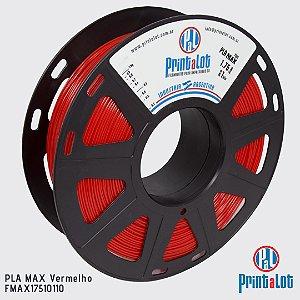 Filamento PrintaLot PLA MAX Vermelho