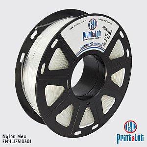 Filamento Nylon Max PrintaLot Natural Translúcido