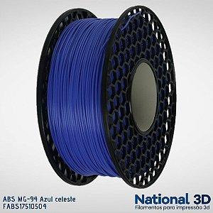 Filamento ABS MG-94 National3D Azul celeste