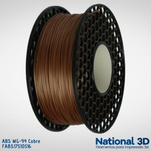 Filamento ABS MG-94 National3D Cobre
