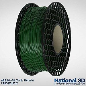 Filamento ABS MG-94 National3D Verde floresta