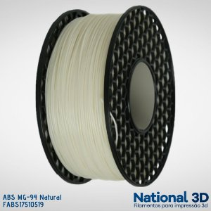 Filamento ABS MG-94 National3D Natural