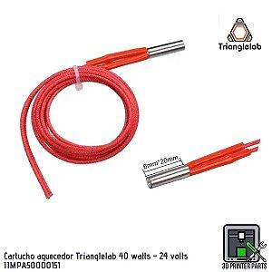 Cartucho aquecedor Trianglelab 40 watts - 24 volts