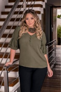 BLUSA PLUS SIZE - SANDY