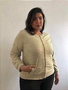 CASAQUINHO BOMBER ESTAMPA - FLORENCE