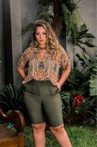 BLUSA PLUS SIZE BEATRIZ