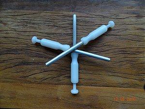 Inoculador Manual para inoculação de Semente de Shiitake em substrato de Serragem