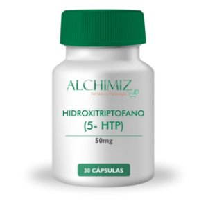Hidroxitriptofano (5-HTP) 50mg - 30 cápsulas