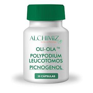 Oli-Ola™ 250mg + Polypodium leucotomos 200mg + Picnogenol 50mg - 30 cápsulas