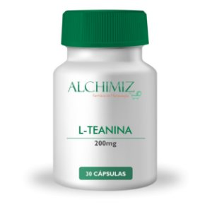 L-Teanina 200mg - 30 cápsulas