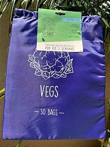 sacos reutilizáveis Sobags Vegs Sempre Fresco (para vegetais)