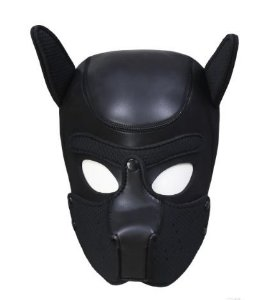 MASCARA DOG - PRETO